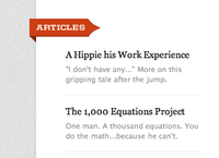 Entertainment While Coding: Fake Articles